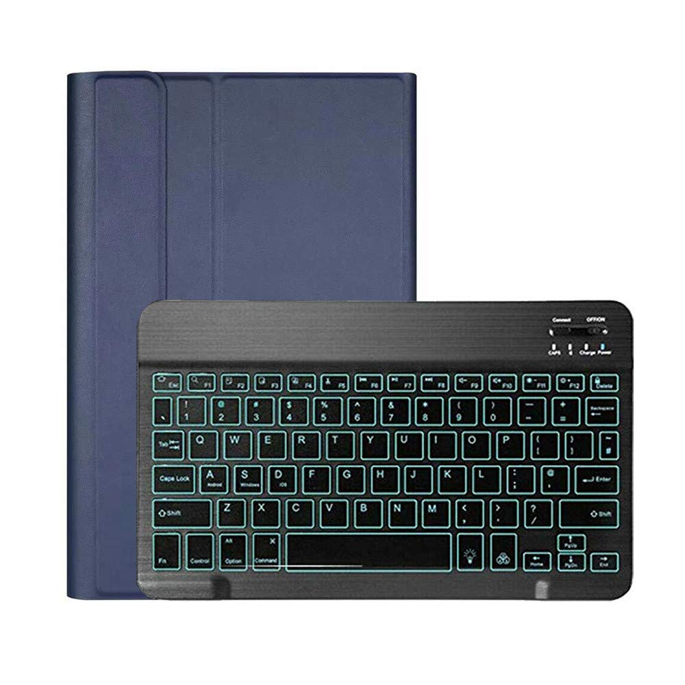 1KTon For Samsung For Galaxy Tab S6 10.5 2019 SM-T860/T865 Backlit Bluetooth Keyboard Case by 1KTon