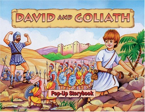 David and Goliath Mini Pop-Up Storybook