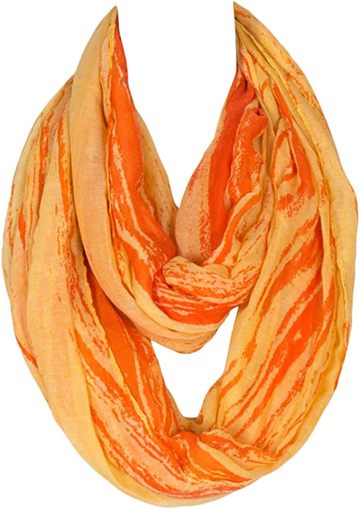 Kingree Fashion Pattern Premium Soft Loop Infinity Scarf Strip Series