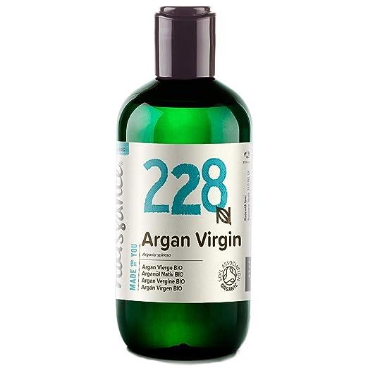 Naissance Aceite Vegetal de Argán de Marruecos BIO n. º 228-250ml - Puro, natural, vegano, certificado ecológico, sin hexano y no OGM - Hidratación ...