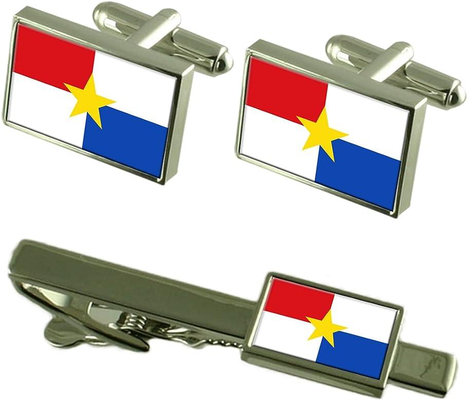 Select Gifts La Ciudad de Montería, Colombia Bandera Gemelos Clip ...