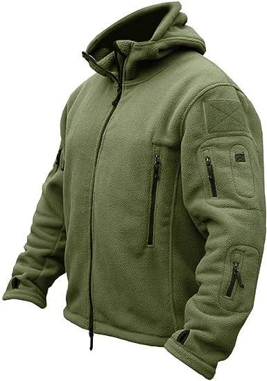 Texar Mens Jacket Tactical Military GROM Hooded Waterproof Black