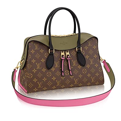 aae1ded17189 Louis Vuitton Monogram Canvas Tuileries Multi Carry Handbag Khaki  Article M41455 Made in France  Handbags  Amazon.com