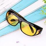 Sedeta 1Pcs Anti-glare UV400 Protected Polarized HD Night Vision GlassesAnti-glare Sunglasses Sport Bike Riders Protection