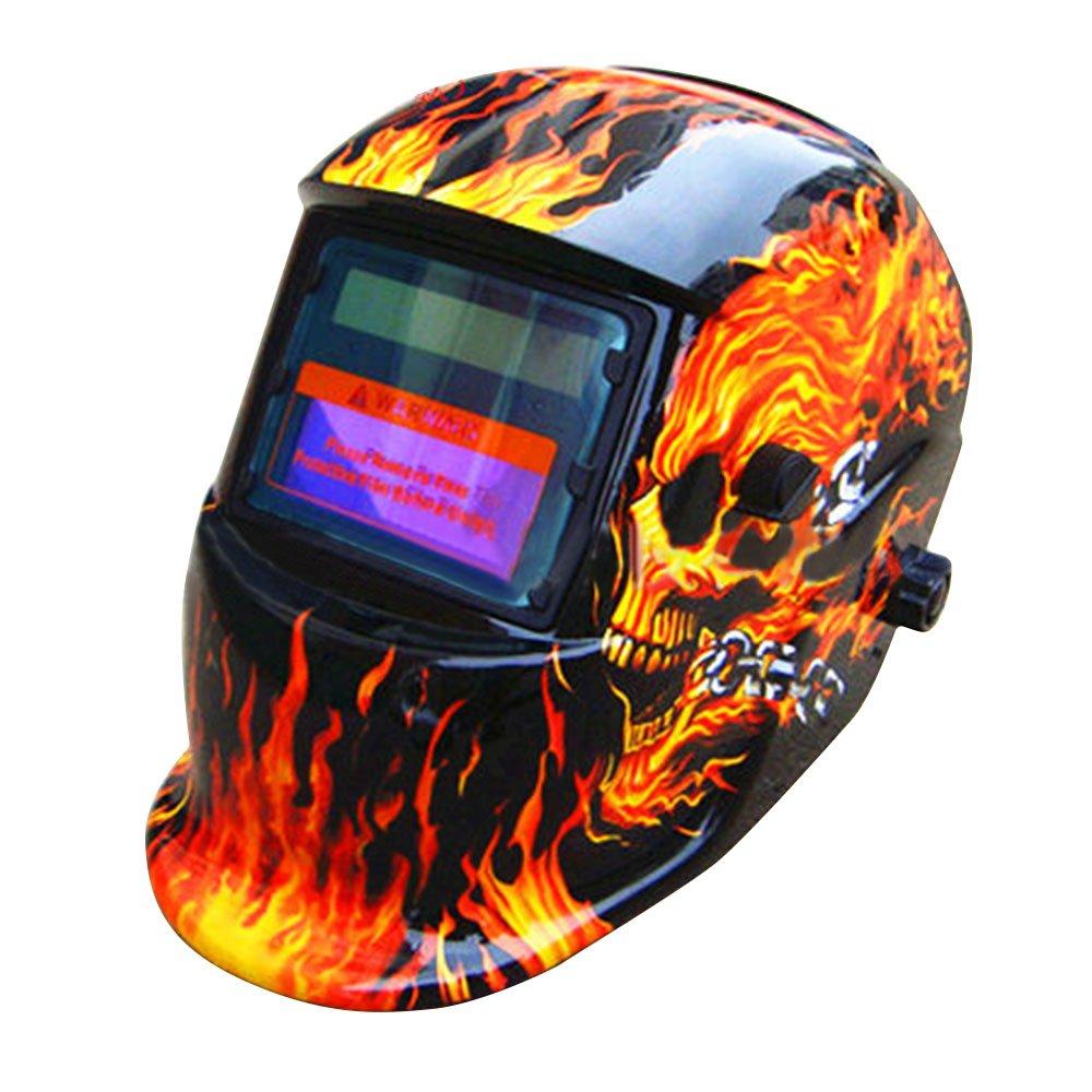 Casco de soldar solar con oscurecimiento automático máscara de soldadura nueva DIN–
