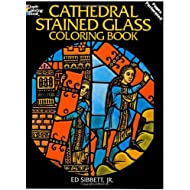 Cathedral Stained Glass Coloring Book (Dover Stained Glass Coloring Book)