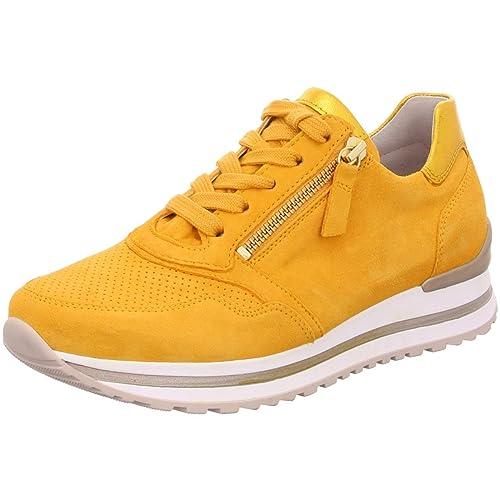 Gabor Damen Low Top Sneaker, Frauen Halbschuhe,leichte Mehrweite,lose Einlage