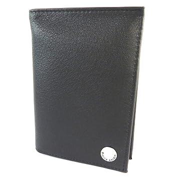 252b16890 Billetera de cuero europea 'Pierre Cardin'negro - 13x9.5x1.8 cm ...