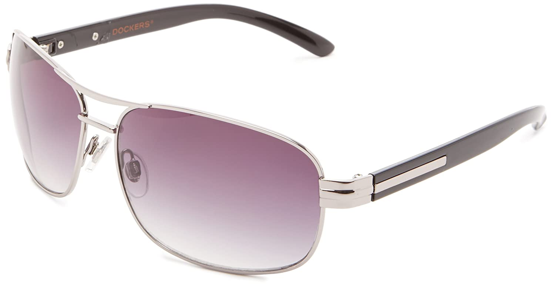 dae0737641 Dockers Men s S03279ldm030 Aviator Sunglasses