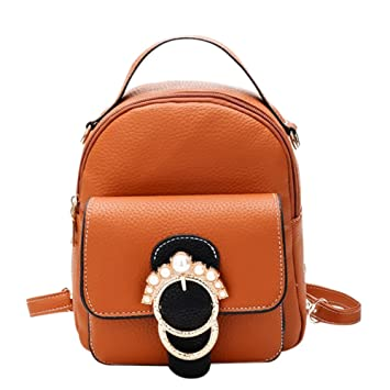 Doitsa mochila mujer mini bolso bandolera bolsas a la Mode educativo y viaje pequeño mochila piel sintética bolsa mochila impermeable, Piel sintética, ...
