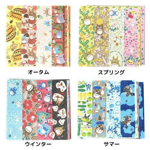 My Neighbor Totoro modern Japanese paper Chiyogami/Spring, Summer, Fall, Winter [spring] Bry Enterprise Co. Ltd.