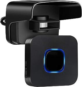 Wireless Driveway Alarm System Detector PIR Sensor- Up to 500FT Wide Sensor Range Fully Weatherproof Outdoor Motion Sensor&Detector 52 Different Kind Chimes Security Alert System