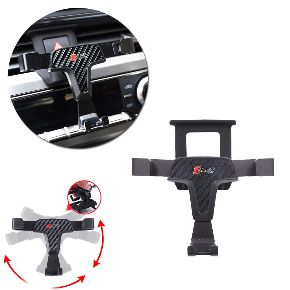 3.5-6.0 Inches Phone GTINTHEBOX Smartphone Cell Phone Mount Holder with Adjustable Air Vent Clip Cover for 2013-2018 Audi Q3 PH-013