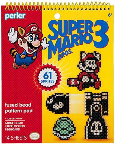 Fuse Bead Patterns (Perler Beads Super Mario Bros 3 Fuse Bead Pattern Pad,)