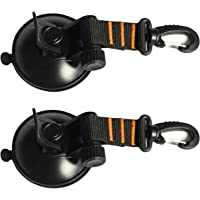 Onefeng Sports SUP Suction Cup Tie Downs Suction Mount Car Side Awning - 2 Pack