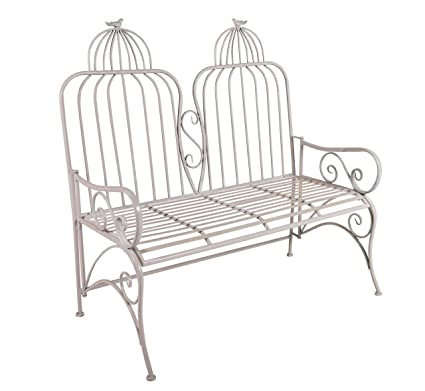 Marvelous Amazon Com Special T Bird Cage Metal Garden Bench Garden Pabps2019 Chair Design Images Pabps2019Com