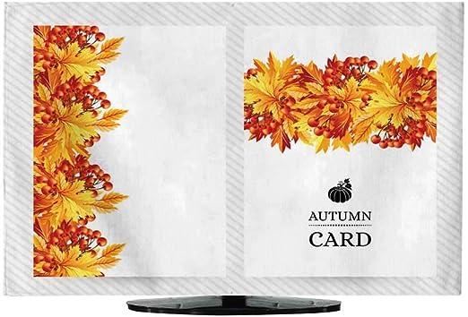 Funda para Cortina de TV con diseño de Hojas y Vector de Hojas Dibujadas a Mano: Amazon.es: Electrónica