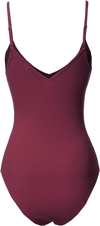 Womens Classic Solid Sleeveless Scoop Neck Bodysuit