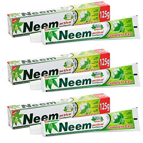 3 x Neem Active Toothpaste 125 GM