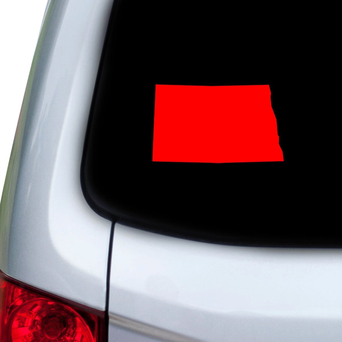 Hoods Red Doors StickAny Car and Auto Decal Series North Dakota ND Sticker for Windows