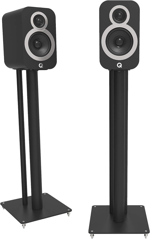 Q Acoustics 3000FSi Noir Paire de Pieds dEnceintes