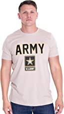 BROOKLYN VERTICAL US Army T-Shirt - U.S Military Training Men Shirt with Front Star