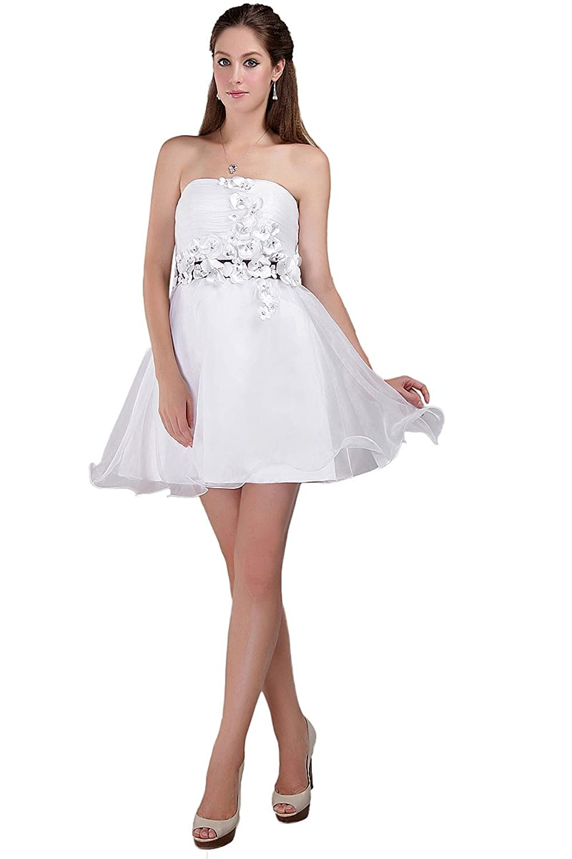 Orient de novia de blanco para coser vestidos de mujer fiestas Bridemaid con lazo y pedrería para vestidos de con lazo para falda de: Amazon.es: Ropa y ...