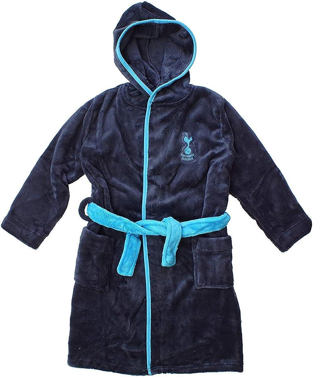 Tottenham Hotspur THFC - Albornoz con Capucha para niños (Tallas de 2 a 12 años): Amazon.es: Ropa y accesorios