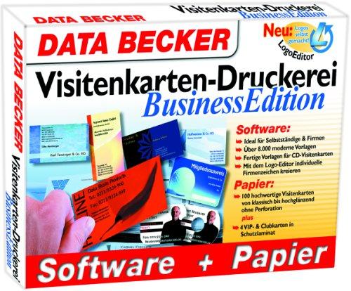 Visitenkarten Druckerei Business Edition Cd Rom Für