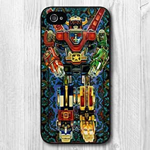 Vintage Design Robot Pattern Protective Hard Phone Cover Skin Case For iPhone 6 4.7 +Screen Protector