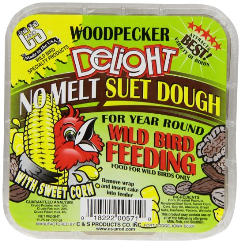 C & S Products Woodpecker Delight, 12-Piece