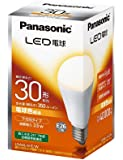 パナソニック LED電球 口金直径26mm 電球30W形相当 電球色相当(3.5W) 一般電球・下方向タイプ 1個入 密閉形器具対応 LDA4LHEW