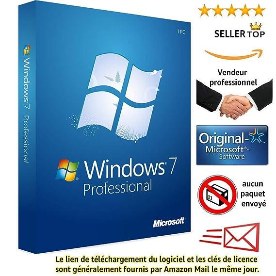clé windows 7 professionnel 64 bits gratuit