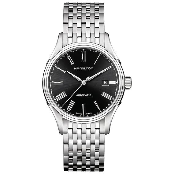 Hamilton H39515134 - Reloj de pulsera hombre, acero inoxidable, color plateado