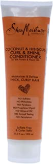 product image for Shea Moisture Coconut and Hibiscus Curl and Shine Conditioner, 10.3 Ounce
