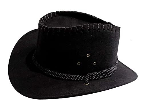 AASA Stylish Home and Travel Use Velvet Cowboy Hats for Men and Boys ... 0f65dbeab30