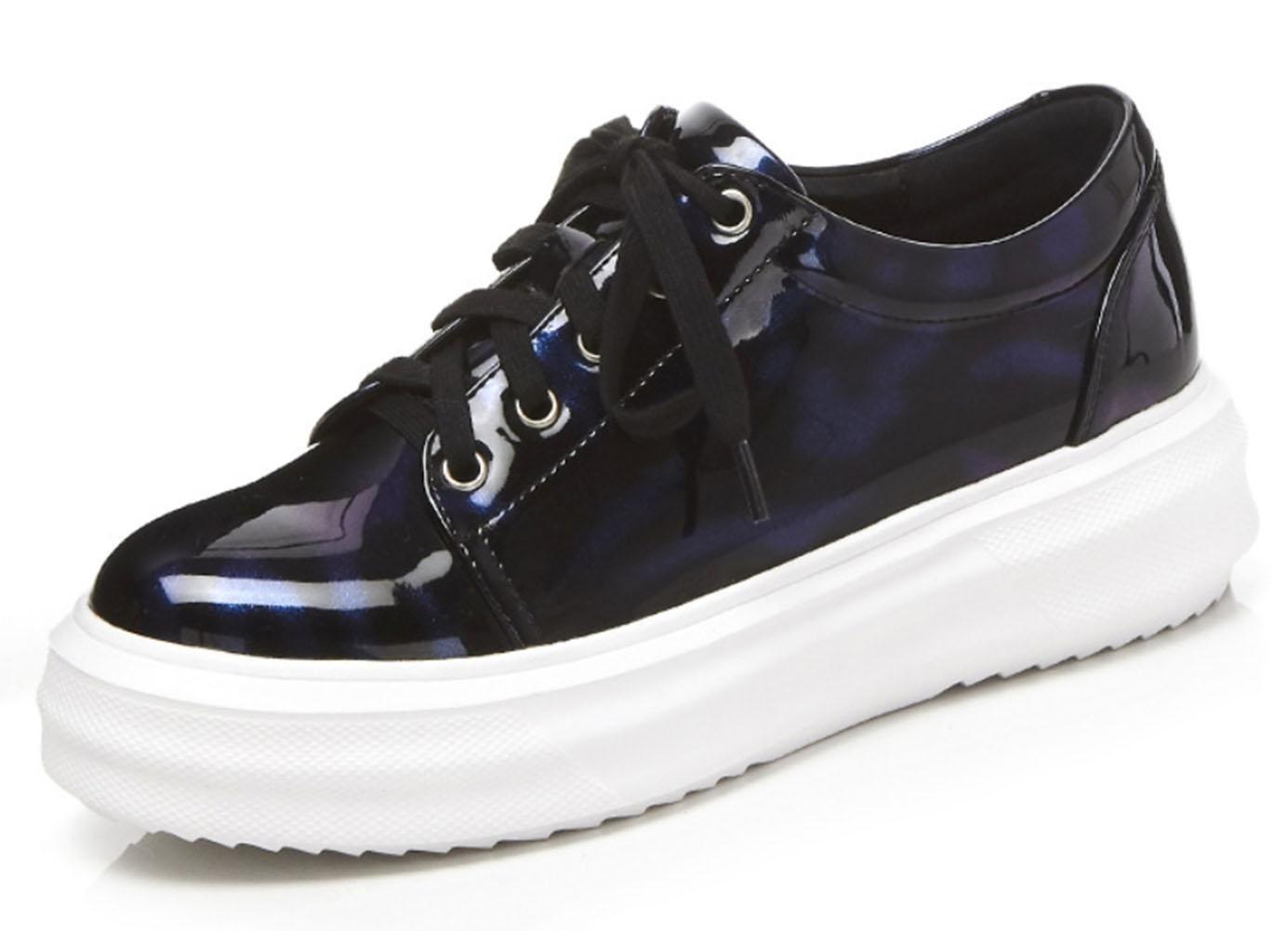 Mei Otoño señoras calzado deportivo luz Casual zapatos zapatos de gran tamaño atado con gruesas sandalias, US6 / EU36 / UK4 / CN36 US6 / EU36 / UK4 / CN36