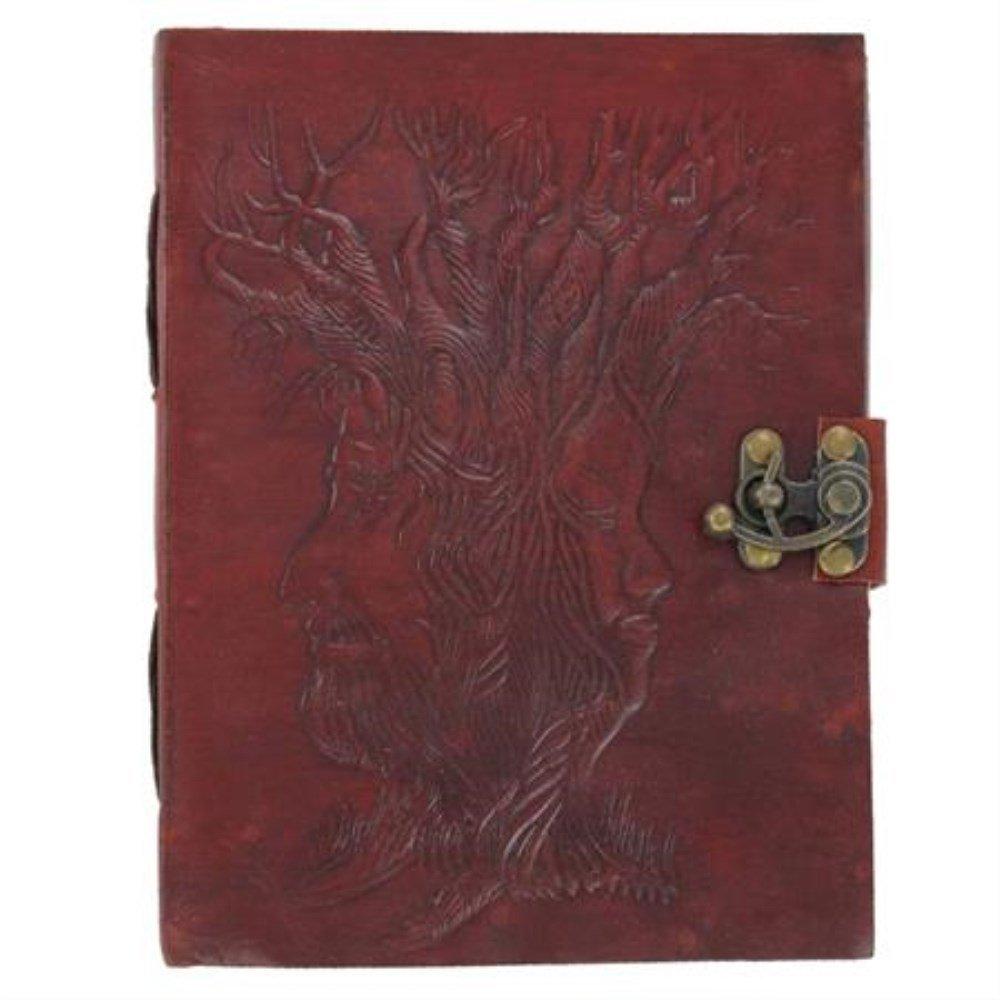 Nature Druid Artisan Leather Diary