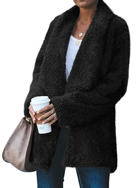 Amazon.com: Acelitt Abrigo de invierno para mujer, de gran ...