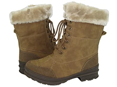 Women's Winter Ice Snow Boots Cold Weather Faux Fur Full Lined Everest