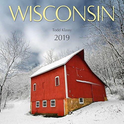 2019 Wisconsin Wall Calendar