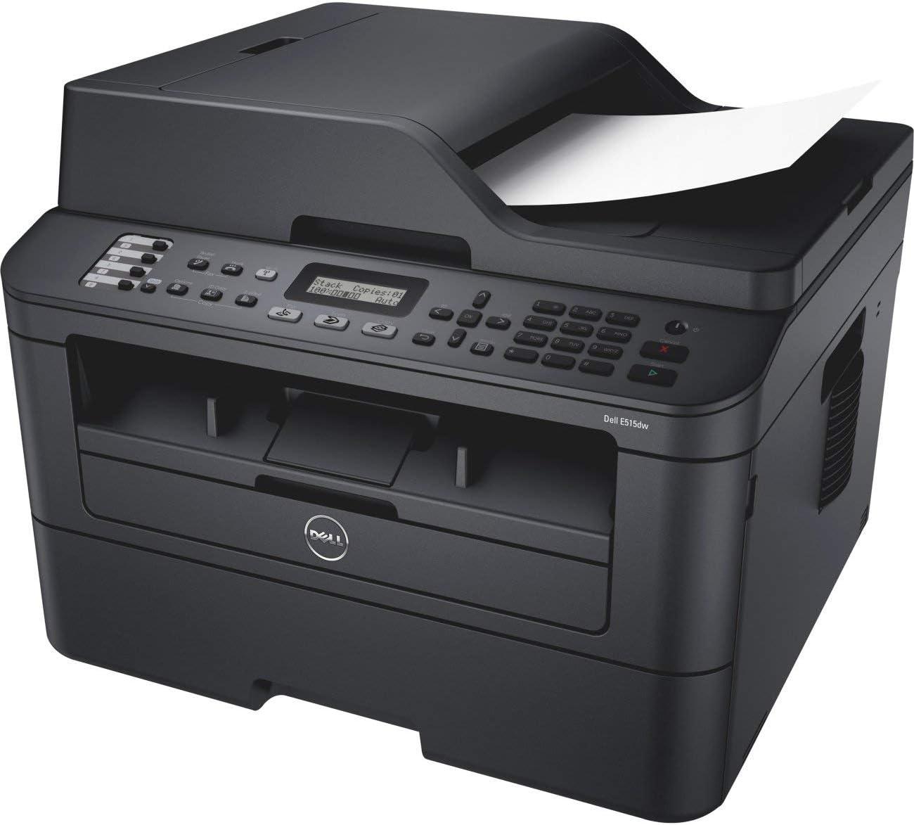 Dell E515dw Monochrome Laser Multifunction Printer (Renewed)