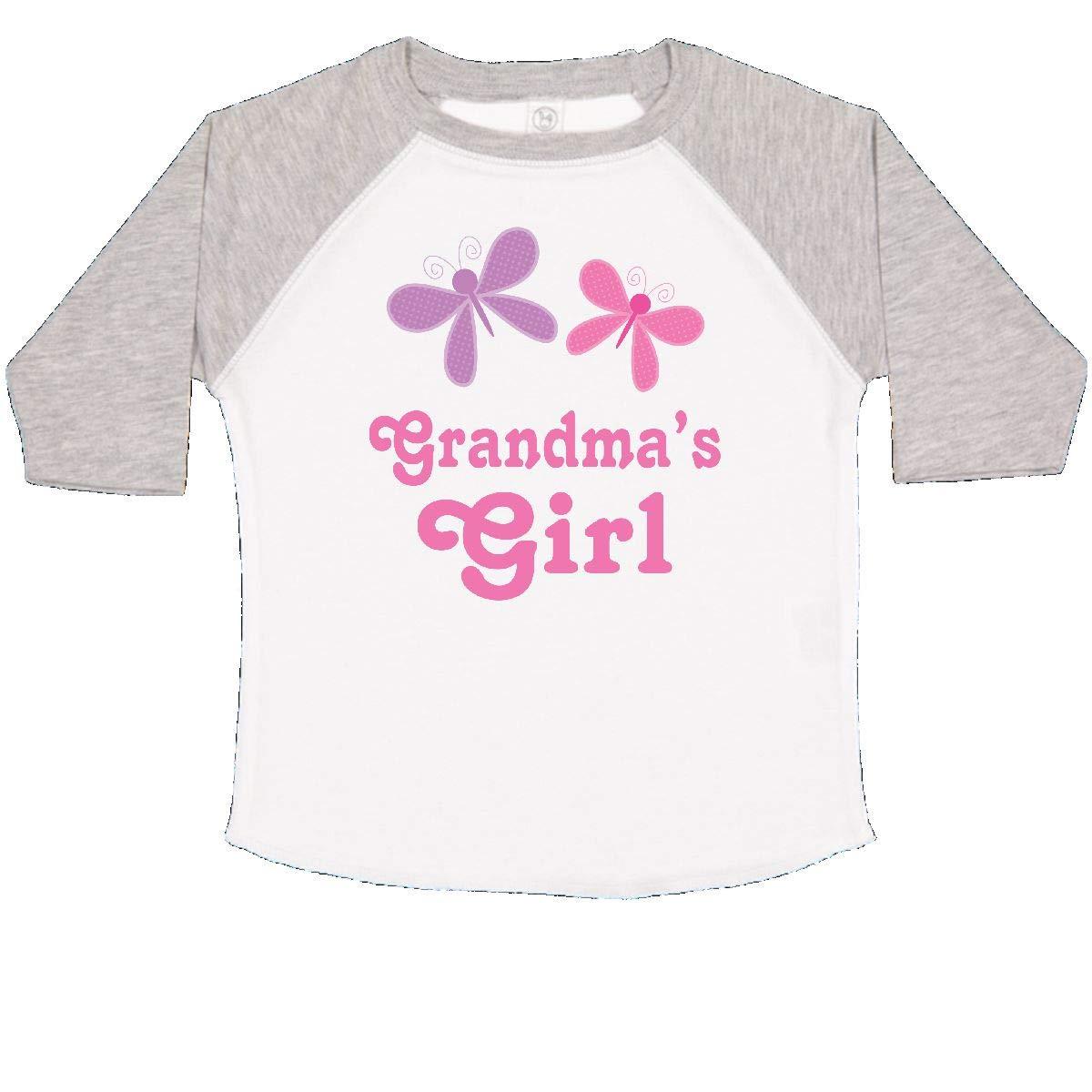 inktastic Grandmas Girl Grandchild Butterfly Toddler T-Shirt