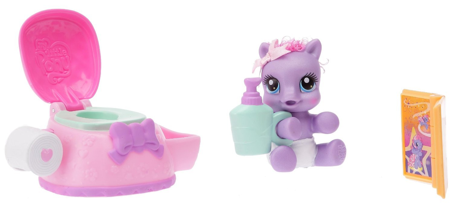My Little Pony - Baby StarSong Playset with accessories 94821 - with potty, book - Hasbro