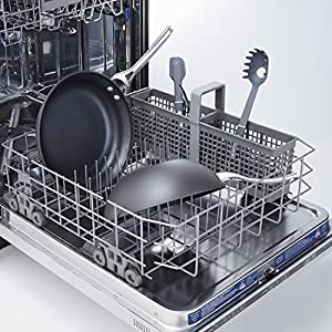 Calphalon Contemporary Hard-Anodized Aluminum Nonstick Cookware, Flat-Bottom Wok, 10-inch, Black