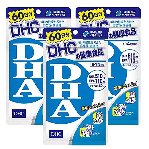 【セット品】DHC DHA 60日 240粒 3袋セット B01DLWSLH2   3袋