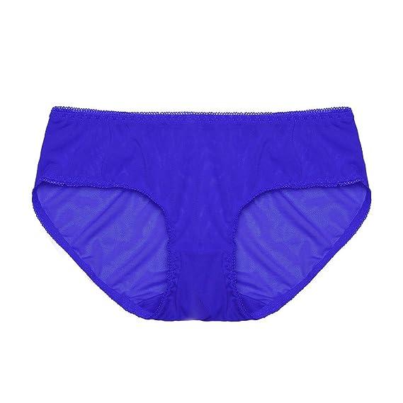 Beikoard Nylon Bragas,Pantalones De Mujer Señoras Sexy Encaje Bikini Ropa Interior,Mujeres Malla