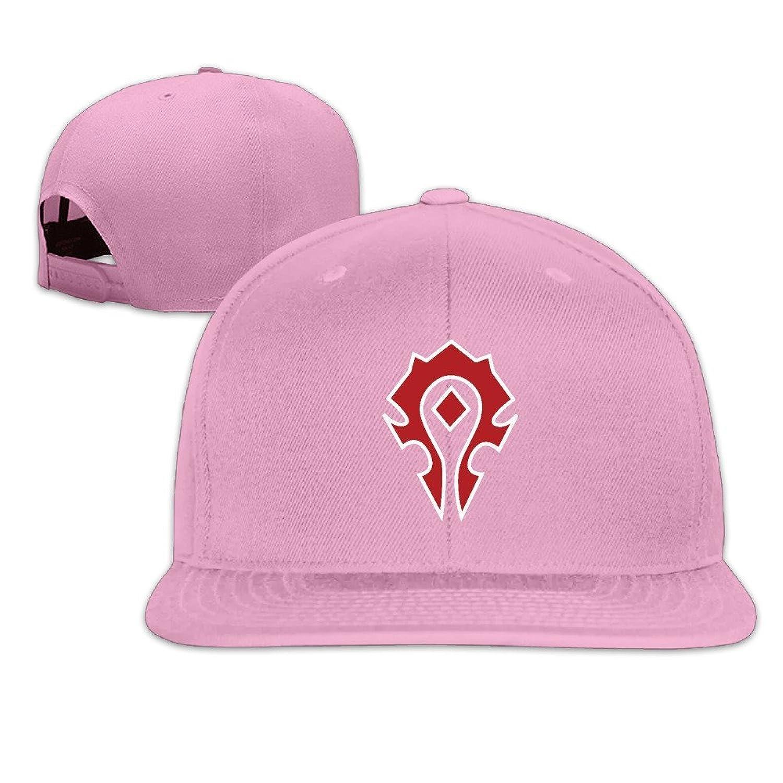BestSeller World Of Warcraft The Horde Symbol Snapback Adjustable Flat Baseball Cap/Hat For Unisex