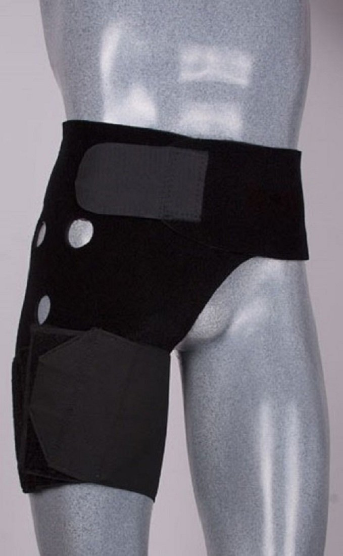 New Options Sports Groin Hamstring Stabilizer | Made in USA (Bilateral Large/XLarge)
