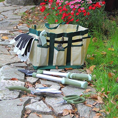 Worth 7 Pieces Ergonomic Garden Tool Set Plant Care Hand Tools Combination (Bag、trowel、lopper、pruner、scissors、folding saw、glove) by Worth (Image #6)